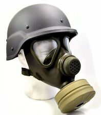 Premium NBC German Military & Police M65 Gas Mask w/Sealed Unused Filter - NEW