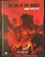 RARE THE END OF THE WORLD ZOMBIE APOCALYPSE ROLE PLAYING GAME SOURCE BOOK FFG