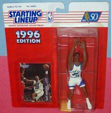1996 Karl Malone Utah Jazz - Free s/h - 1st new uniform Kenner Starting Lineup