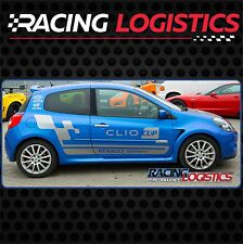Porte Stickers Autocollant Vinyl RENAULT SPORT RS MK3 Clio Cup Racing 1.2 1.4