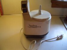 Moulinex La Machine II Food Processor LM2 Motor Base ONLY Working Condition