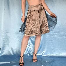 Samt-Schleifen Am Tulle Summer Skirt S 36 Maxi Party Evening Dance