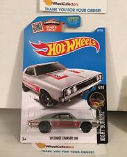 '69 Dodge Charger 500 #84 * Zamac * 2016 Hot Wheels * G9