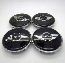 4 Cache Jante moyeux Centre de roue Enjoliveur - Mini Cooper -  68mm