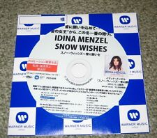 IDINA MENZEL Japan PROMO ONLY CD acetate OFFICIAL more listed SNOW WISHES