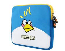 10 inch ANGRY BIRDS Soft Sleeve Case Neoprene Bag Pouch for iPad 1/2  new iPad