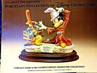 CAPODIMONTE COLLECTOR'S GUIDE TO THE LAURENZ DISNEY CHARACTERS COLLECTION, MINT