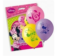 10 Palloncini MINNIE Mickey Mouse Club House Topolino Paperino Disney 075 FBD019