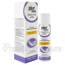 pjur med Sensitive Glide lubricant Water based Natural lube 100 ml / 3.4 fl.oz