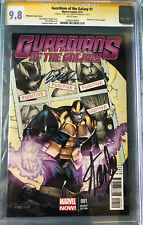 Guardians of the Galaxy #1 Signed by Stan Lee and Humberto Ramos Phantom variant