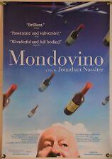 MONDOVINO ROLLED ORIG 1SH MOVIE POSTER WINE DOCU (2004)