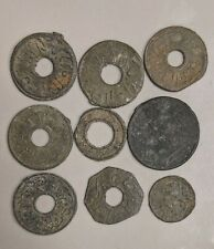 1659-1823 PALEMBANG SULTANATE Nine Coin Collection Lot (#L6580)
