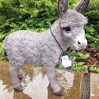 Donkey Ornament Grey Vivid Arts £16.99 Indoor Outdoor Ornament