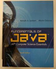 Fundamentals of Java Computer Science Essentials Kenneth Lambert Martin Osborne