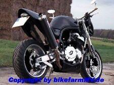 V2A XTP Kennzeichenhalter verstellbar 180 Motorrad Streetfighter Super Bike Race