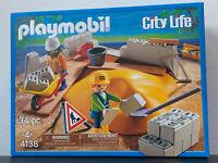 Playmobil City Life 4138 Baustelle NEU & OVP !!!