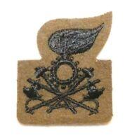 Original WWII Royal Italian Army (REI) Sapper/Poineer Cap Badge