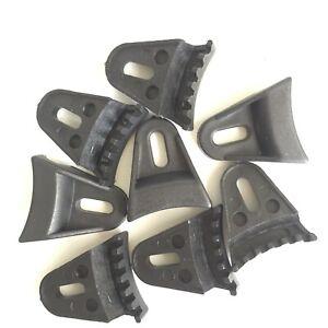 8 Pcs Black Plastic Speaker Grill Clamps For Speaker Cover