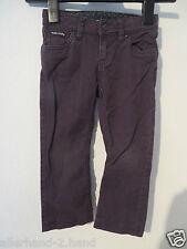 H&M Sanrio # tolle HELLO KITTY Jeans Gr. 110 braun Stretch Mädchen Kleidung Hose