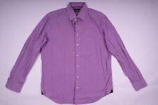 Tommy Hilfiger Klassisches Hemd Langarm Lila Herren Größe 42
