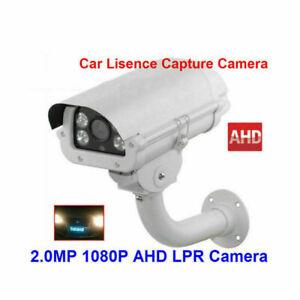 NEW 2MP 1080P AHD LPR ANPR Camera With Intelligent 2.8-12mm Auto Iris Lens
