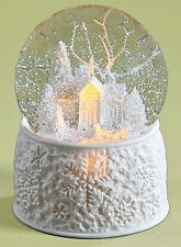 "SNOW GLOBES - ""WHITE CHRISTMAS"" LIGHTED & MUSICAL SNOW GLOBE"
