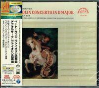Beethoven Dvorak Violin Concertos Josef Suk Japan SACD w/OBI NEW/SEALED