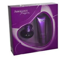SET COFFRET ARROGANCE PASSION  POUR FEMME EDT 30 ML + BODY LOTION 75 ML