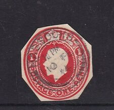 Gb 1934 King George V Stationary cut out Lovely Hassocks Cancel