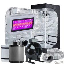 """TopoLite LED 300W Grow Light + 4"""" Filter Combo+24""""x24""""x48"""" Grow Tent Kit"""