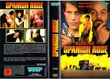 "VHS - FSK 18 - "" Spanish ROSE "" (1993) - Michael Paré / Michael Ironside"