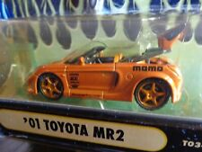 2001 TOYOTA MR2  SSTUNER  MUSCLE MACHINES 1/64