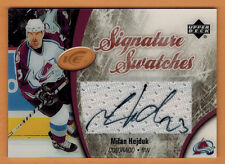 2005-06 , UPPER DECK , ICE , MILAN HEJDUK , SIGNATURE SWATCHES , AUTO , JERSEY