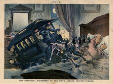 PERPETUAL NIGHTMARE OF THE FIFTH AVENUE PROPERTY OWNER JACOB SHARP HORSECAR LINE