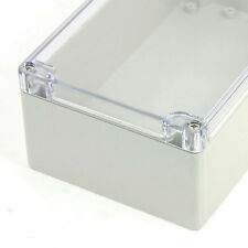 Waterproof Sealed Power Junction Box 200mmx120mmx75mm w Clear Cover SZHKUS