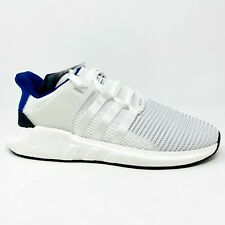 Adidas Originals EQT Support 93/17 BZ0592 White Blue Black Mens Running Shoes