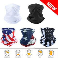 Summer Face Mask/Scarf  Neck Gaiter Biker Tube Bandana Beanie Cover Cap Headwrap