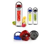 Fruit Infuser Infusion BPA Free Detox Drink Juice Water Bottle 500/700/800ML