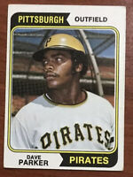 1974 Topps #252 Dave Parker (Pirates) RC (Rookie card)