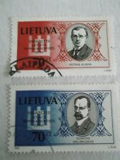 1999 Lithuania National Day Signatories used Mi.688/9, AC7