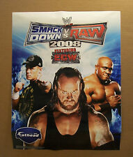 WWE  WWF FATHEAD 2008 SMACK DOWN VS RAW LASHLEY CENA UNDERTAKER