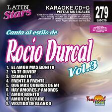 Karaoke Latin Stars 279 Rocio Durcal Vol.3