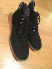 WOLVERINE BOOTS MENS PAXTON RED SOLE CHUKKA WAXY SUEDE BLACK ANLE BOOTS 9.5 NWOB