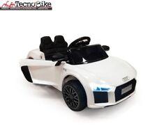Auto elettrica Lamas Toys AUDI R8 Spyder Bianco con Telecomando