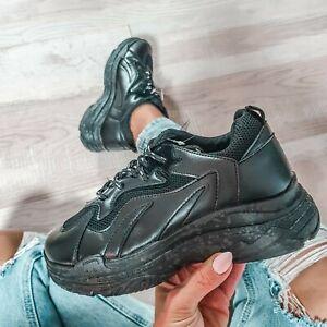 Damen plateau Sneaker My Hailys schwarz Gr. 36-41