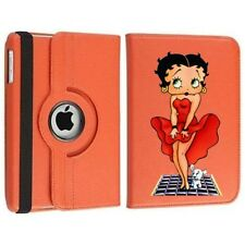 Betty Boop 360 Rotating Orange Case Cover for iPad 9.7 2016