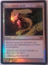 Enterrement sacré PREMIUM / FOIL VF - French Hallowed Burial - Mtg Magic