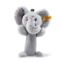 NEW STEIFF BABY ELLIE ELEPHANT RATTLE Grip Toy + Steiff Ideal Gift 240768