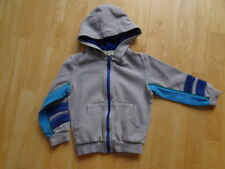 KENZO boys grey blue hooded zip thru jumper hoodie AGE 5 YEARS 5A authentic