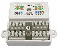 COUPLER CAT 6 PUNCHDOWN WHITE Connectors Modular - CJ67788